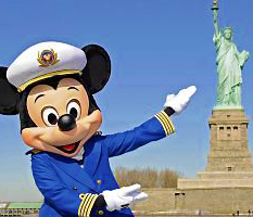 Cruzeiro da Disney sairá de New York