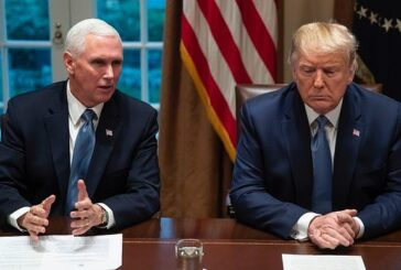 Mike Pence e Donald Trump se encontram depois do cerco no Capitólio