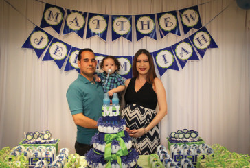 Baby Shower de Matthew e Jeremiah Marques
