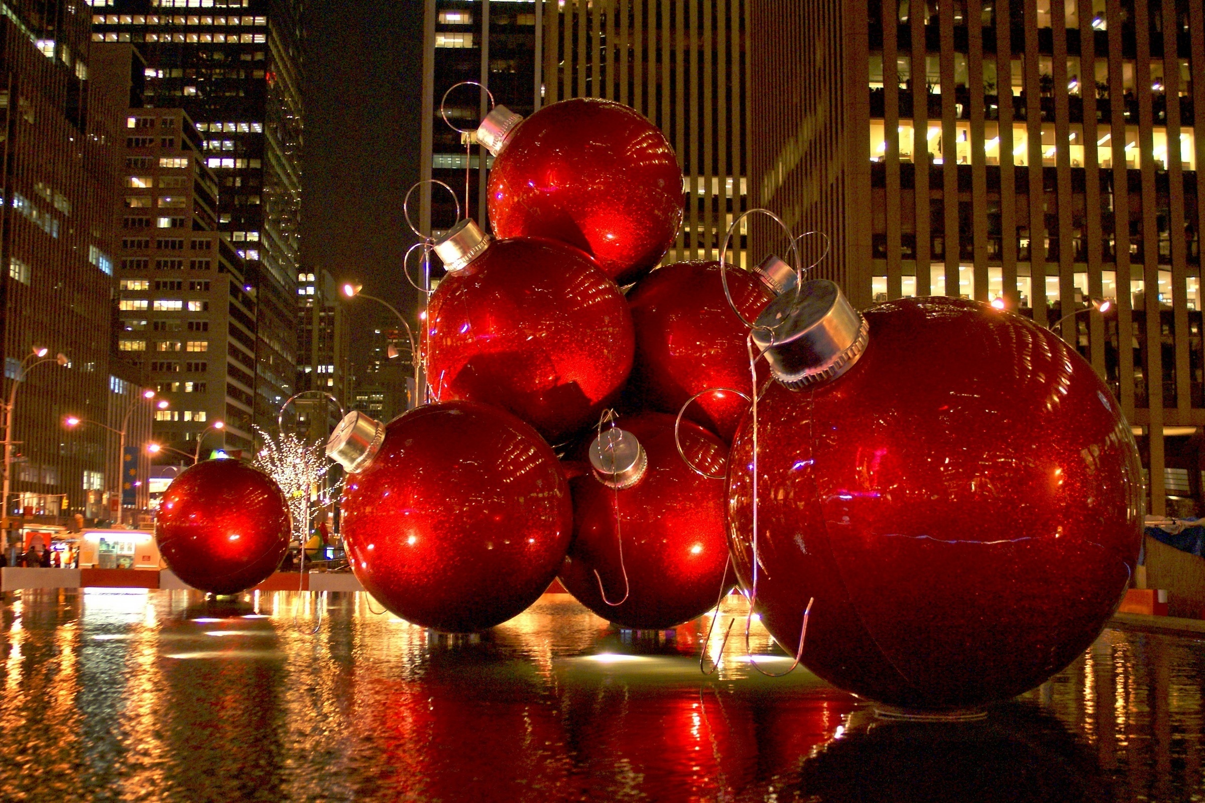 #C21309 Toda A Beleza Do Natal Em New York 5549 decorations noel new york 2400x1599 px @ aertt.com